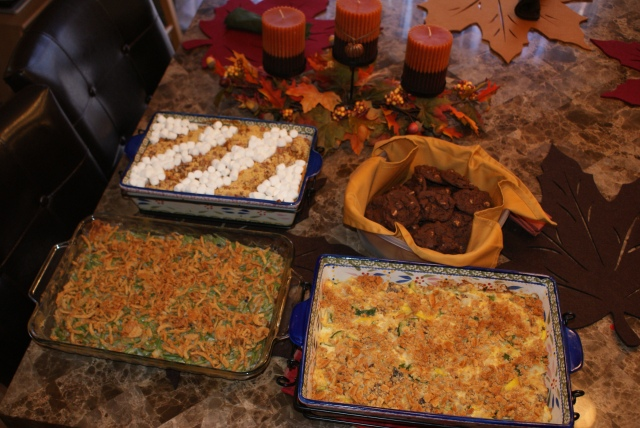 Casseroles and Cookies