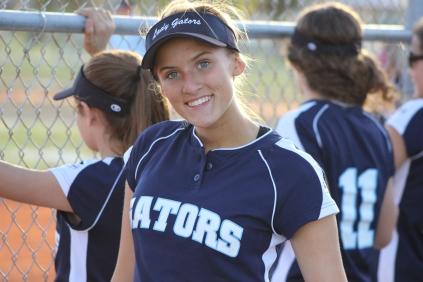 Senior year of softball; Captain Morgan