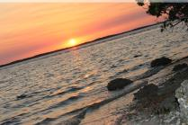 Everglades/Chokolosee Causeway at sunset