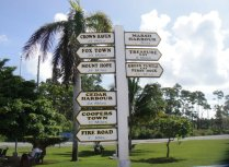 Where do we go first? In Abacos, Bahamas
