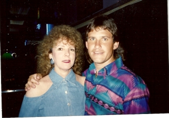 Mom and Derrick in 93'