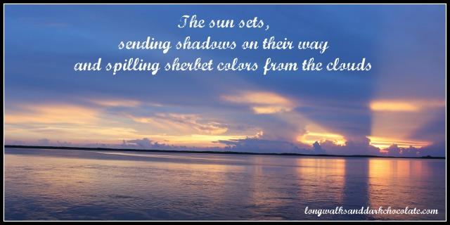 Sherbet sunset
